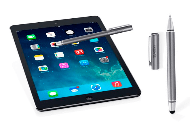 """ifa-2014-Wacom-Bamboo-Stylus-solo-Bamboo-Stylus-duo """"width ="""" 660 """"height ="""" 440 """"srcset ="""" https://i2.wp.com/www.giztab.com/wp-content /uploads/2014/09/ifa-2014-Wacom-Bamboo-Stylus-solo-Bamboo-Stylus-duo.png?w=660&ssl=1 660w, https://i2.wp.com/www.giztab.com/ wp-content / uploads / 2014/09 / ifa-2014-Wacom-Bamboo-Stylus-solo-Bamboo-Stylus-duo.png? resize = 300% 2C200 & ssl = 1 300w """"sizes ="""" (max-width: 660px) 100vw , 660px """"data-recalc-dims ="""" 1 """"/></p> <p>Also present at the Wacom booth in Berlin, it is integrated by Bamboo Stylus alone (for capacitive devices) and Bamboo Stylus duo (combination of stylus and traditional pen), which have been equipped with a new tip covered in carbon fiber, plus colors and touch feeling renewed -soft and comfortable when writing, sketching and navigating on a touch screen-</p><div class='code-block code-block-9' style='margin: 8px auto; text-align: center; display: block; clear: both;'> <div data-ad="""