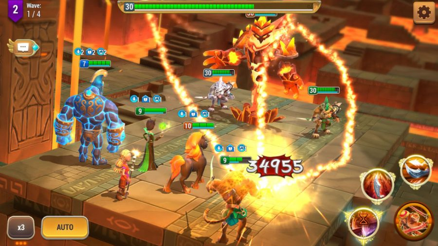 RPG with turn-based fighting