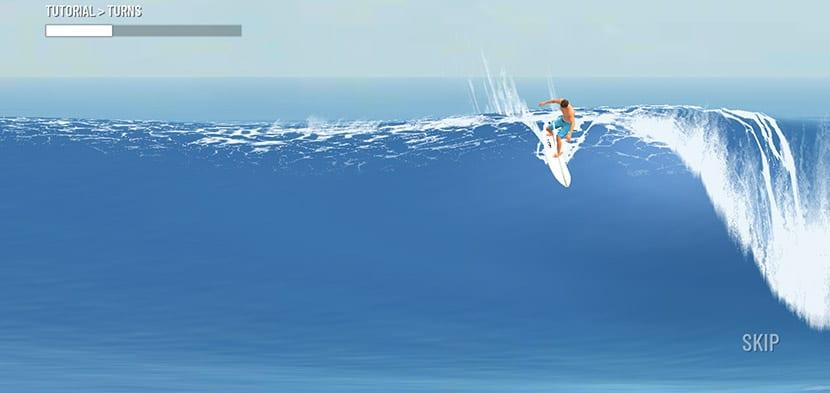 Spins in True Surf