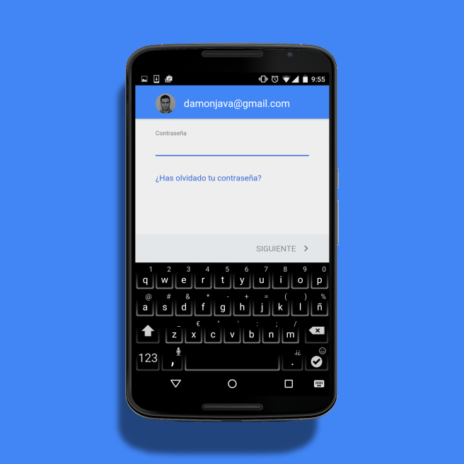Add an Android account