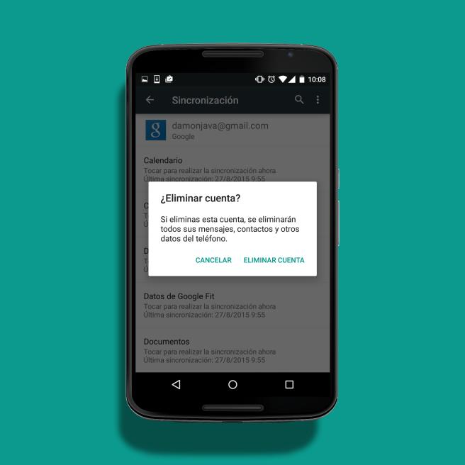 Delete Google User Profile