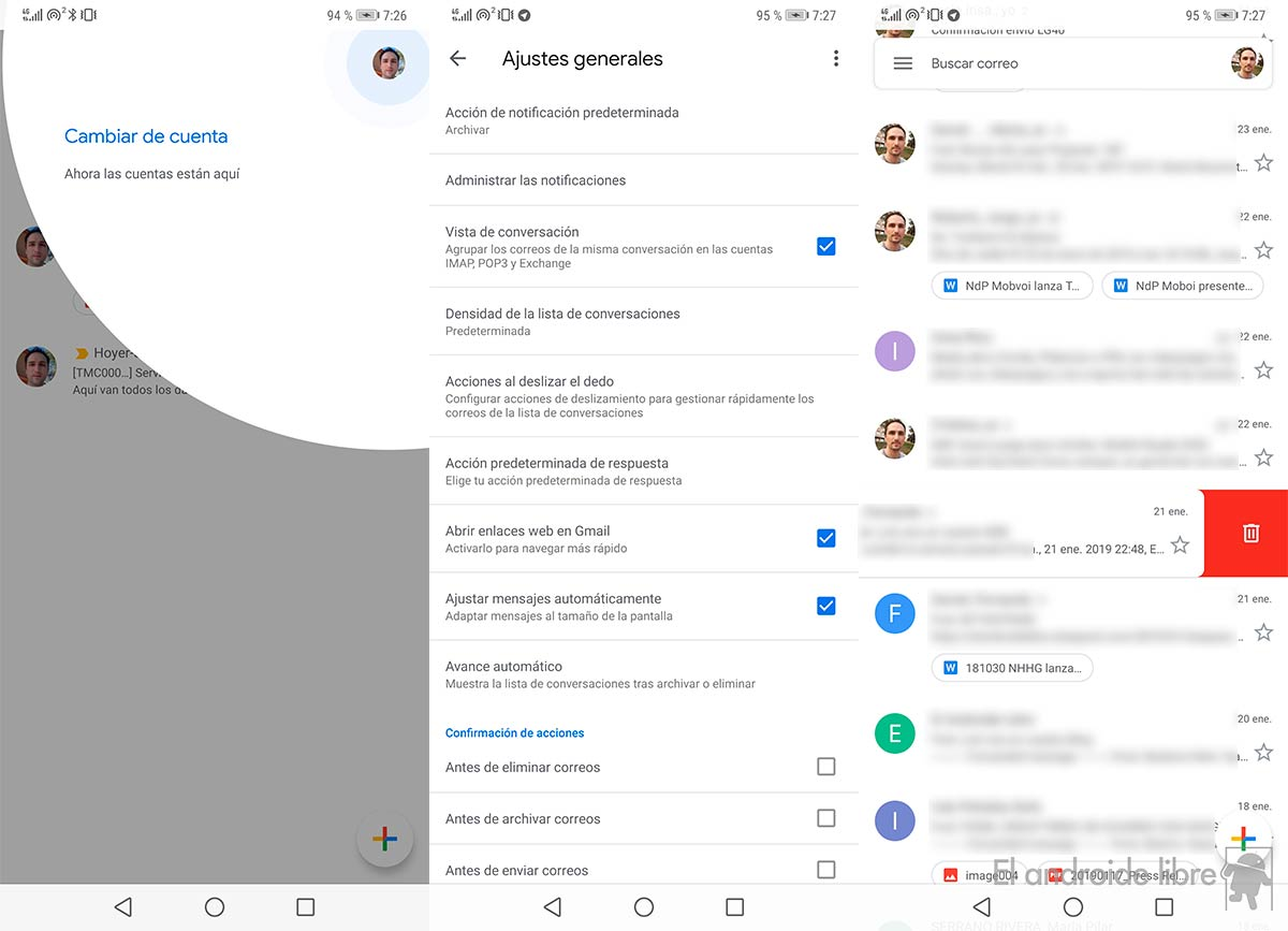 The new Gmail finally reaches all Android