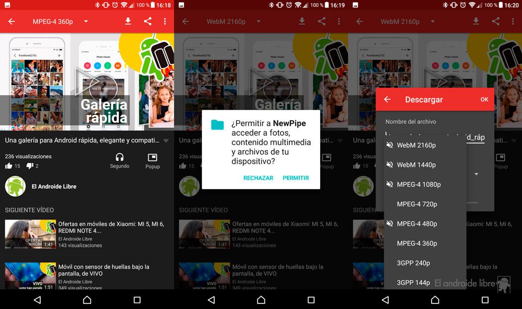 The best unofficial YouTube apps