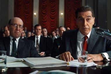 Al Pacino plays Jimmy Hoffa
