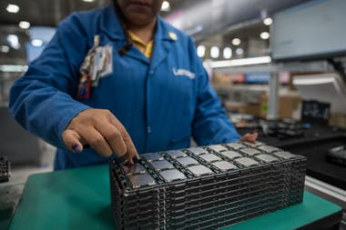 A view of the Lenovo plant in Monterrey, Mexico