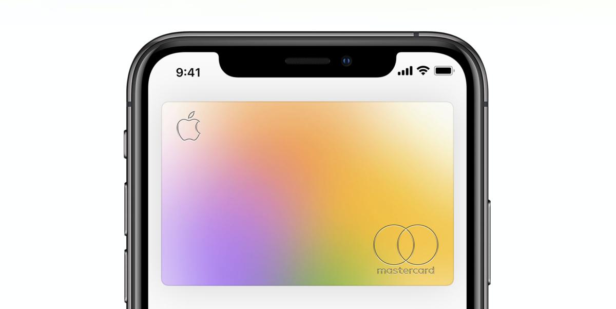 Apple Card in wallet