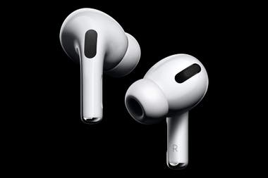 Apple AirPods Pro have a new design with silicone tips to better fit different ear sizes