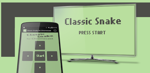 Snake, classic games for Chromecast
