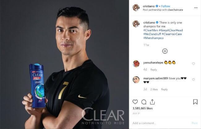 Image - Cristiano Ronaldo earns more as an influencer on Instagram than as a footballer