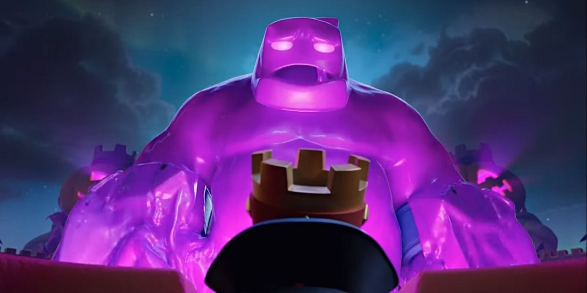 Golem de Elixir, the new card of Season 4 of Clash Royale