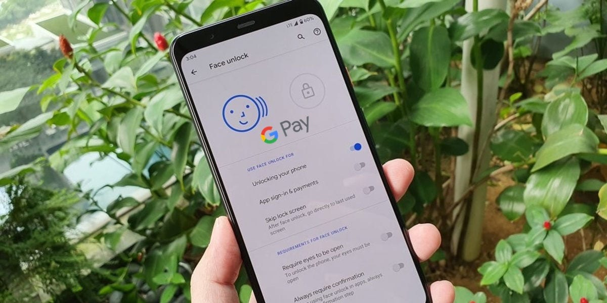 google pay allows mobile payments with facial recognition