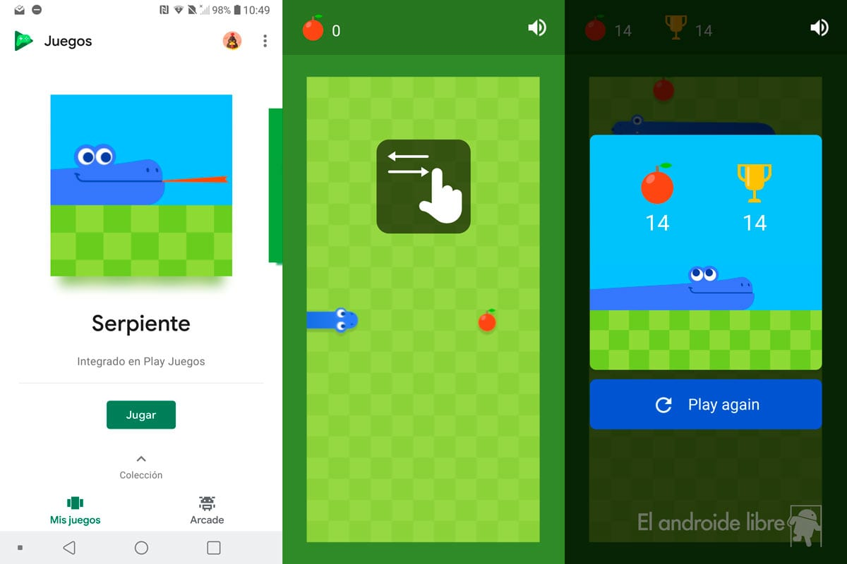 Google Adds A Secret Game To Your Android Enjoy The New Snake