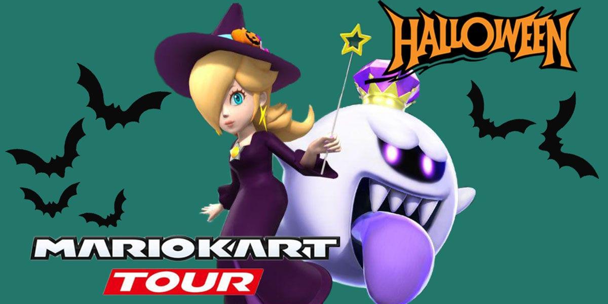 Mario Kart Tour Season Halloween