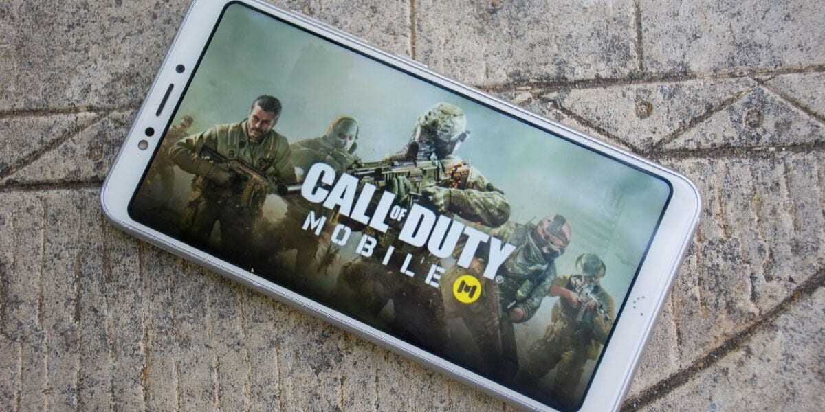 Play first-person Call of Duty Mobile Battle Royale