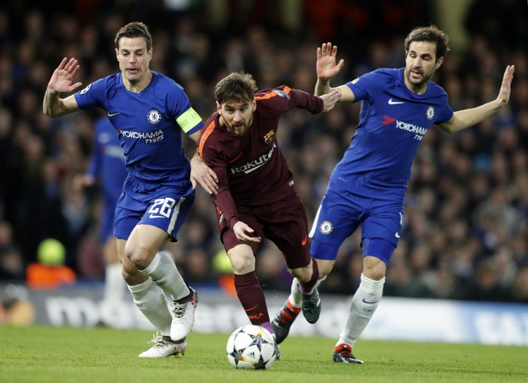 FC Barcelona VS Chelsea Messi