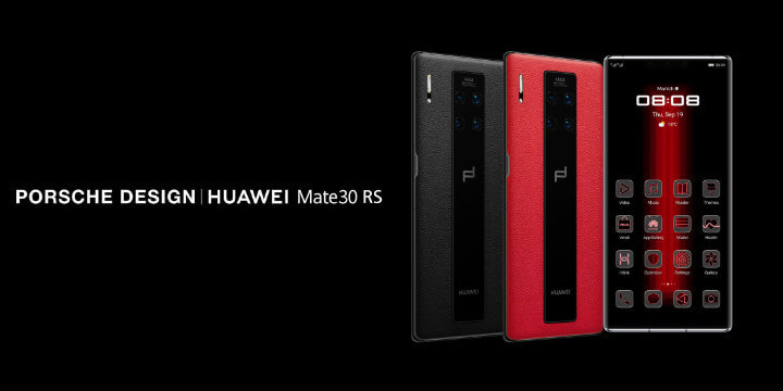 Image - Huawei Mate 30 RS Porsche Design, the luxury edition with leather finishes