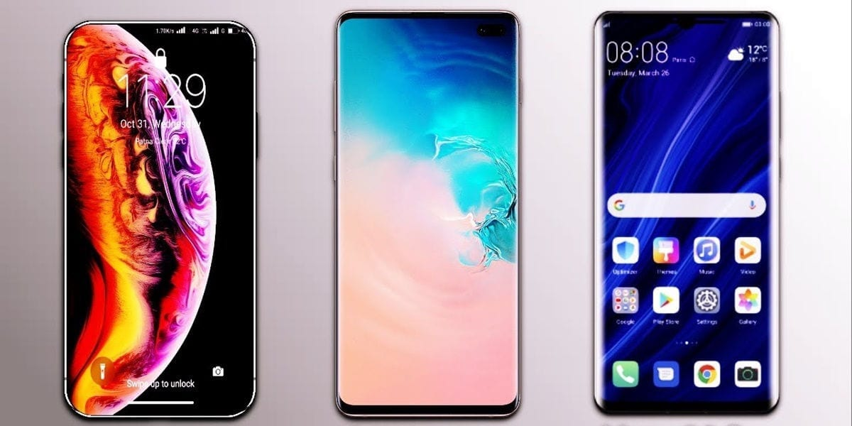 test battery mate 30 pro vs iphone 11 vs galaxy note 10+