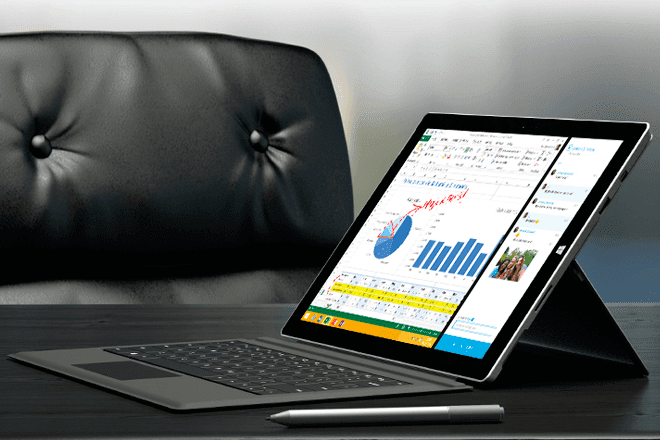 Microsoft Surface Pro 3 in special plan for organizations