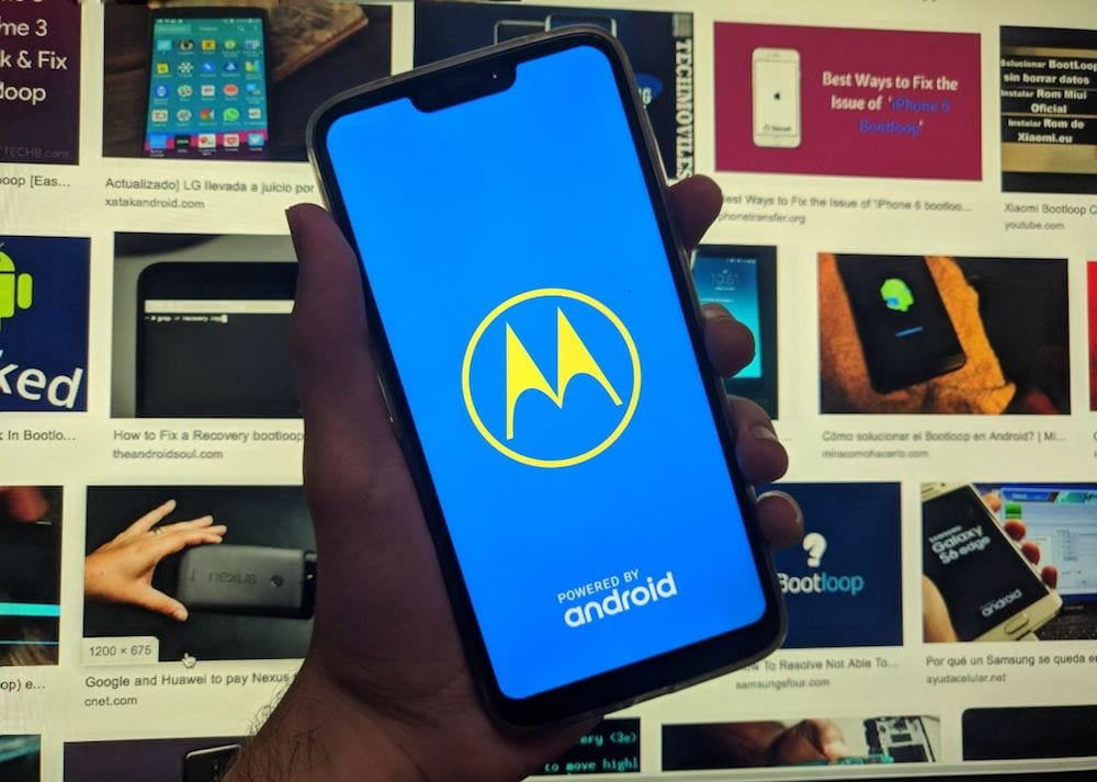 mobile gets caught in the logo solution