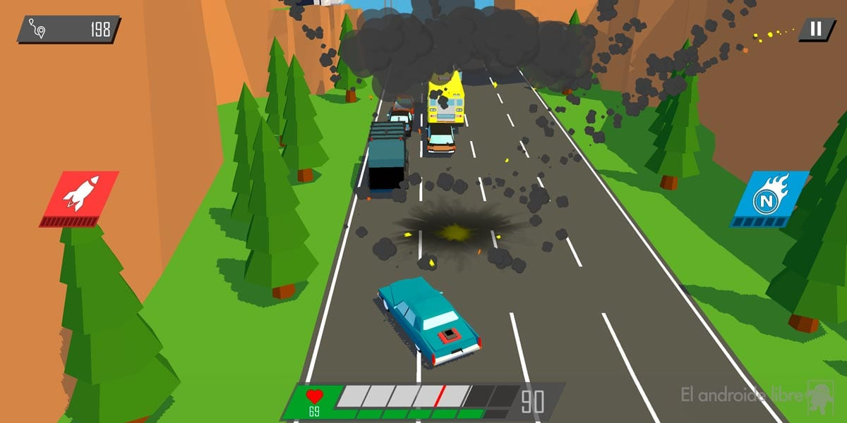 Play the most explosive car race: if you don't run you explode