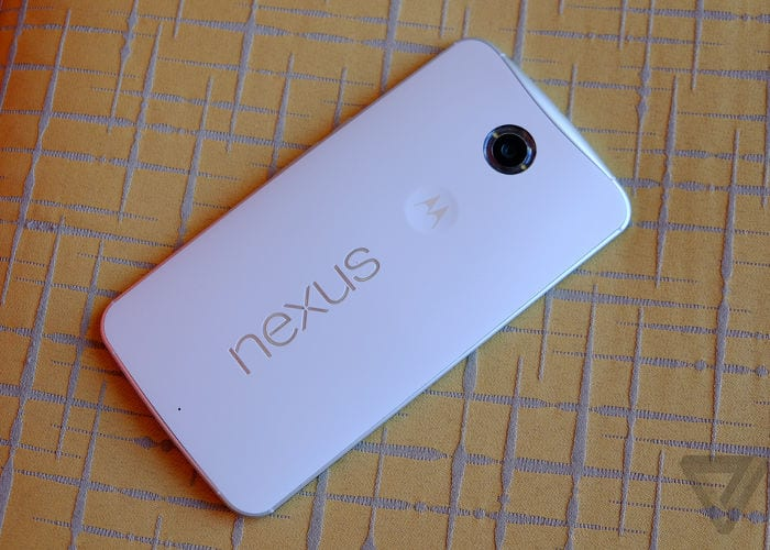 Nexus 6, video and photographs never seen