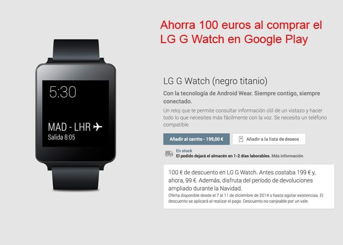 LG G Watch Offer