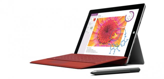 Surface 3 keyboard