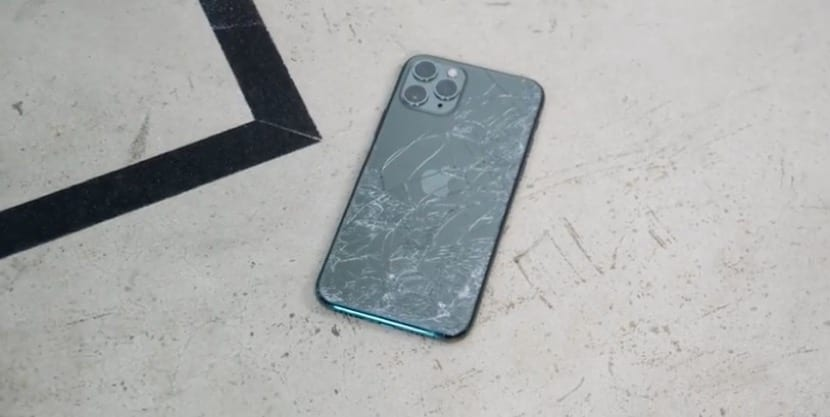 broken iPhone 11