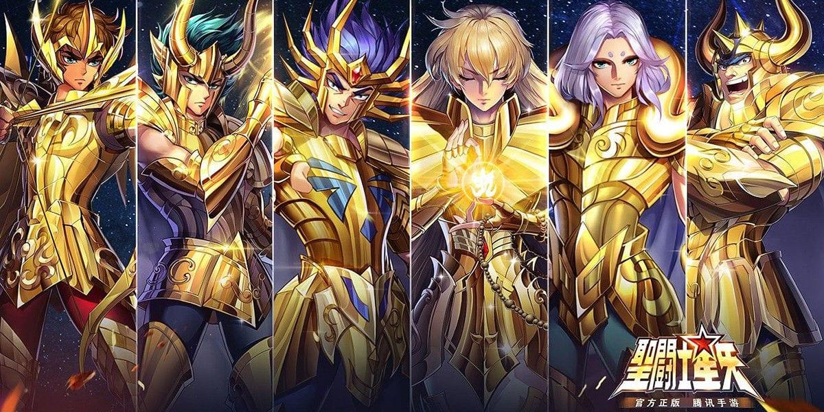 summon golden knights saint seiya awakening