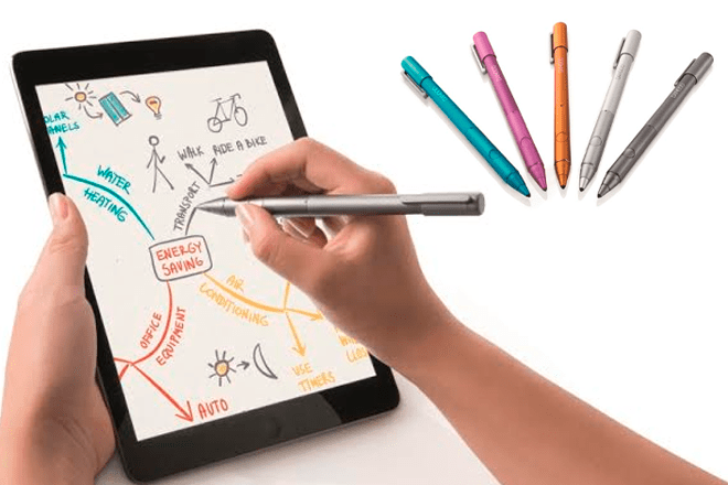 """IFA-2014-Wacom-Bamboo-Stylus-fineline-pen-smart """"width ="""" 660 """"height ="""" 440 """"srcset ="""" https://i2.wp.com/www.giztab.com/wp-content/uploads /2014/09/IFA-2014-Wacom-Bamboo-Stylus-fineline-boligrafo-inteligente.png?w=660&ssl=1 660w, https://i2.wp.com/www.giztab.com/wp-content/ uploads / 2014/09 / IFA-2014-Wacom-Bamboo-Stylus-fineline-pen-smart.png? resize = 300% 2C200 & ssl = 1 300w """"sizes ="""" (max-width: 660px) 100vw, 660px """"data-recalc -dims = """"1"""" /></p> <p>The features of this pen also include pressure sensitivity at 1,024 levels – and the rejection of the palm of the hand when supported on the iPad, to strengthen the pressure on the task being carried out, as well as to do Feel more natural use. It has a battery of approximately 26 hours of duration that can be recharged via USB.</p><div class='code-block code-block-5' style='margin: 8px auto; text-align: center; display: block; clear: both;'> <div data-ad="""