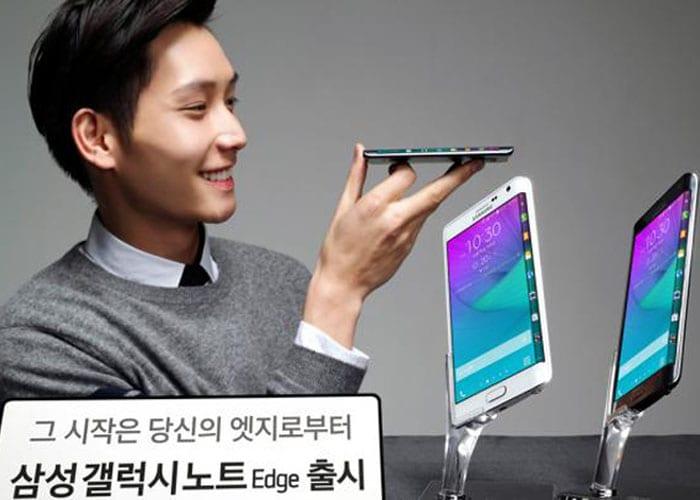 Ya tenemos el Samsung Galaxy Note Edge... en Corea