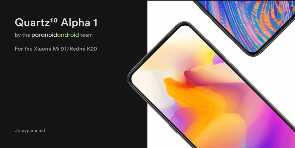 Xiaomi Mi 9T Android 10 Paranoid Android