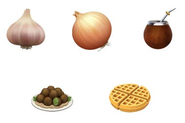 Garlic, onion, falafel and waffle are some of the new emojis that accompany mate in the new iOS 13.2 update for iPhone