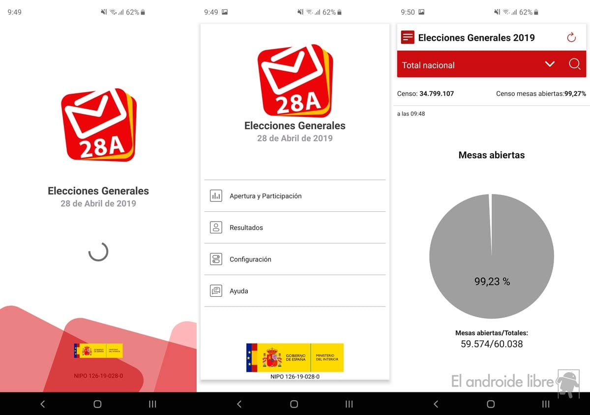 General elections in Spain: the best application to know the results