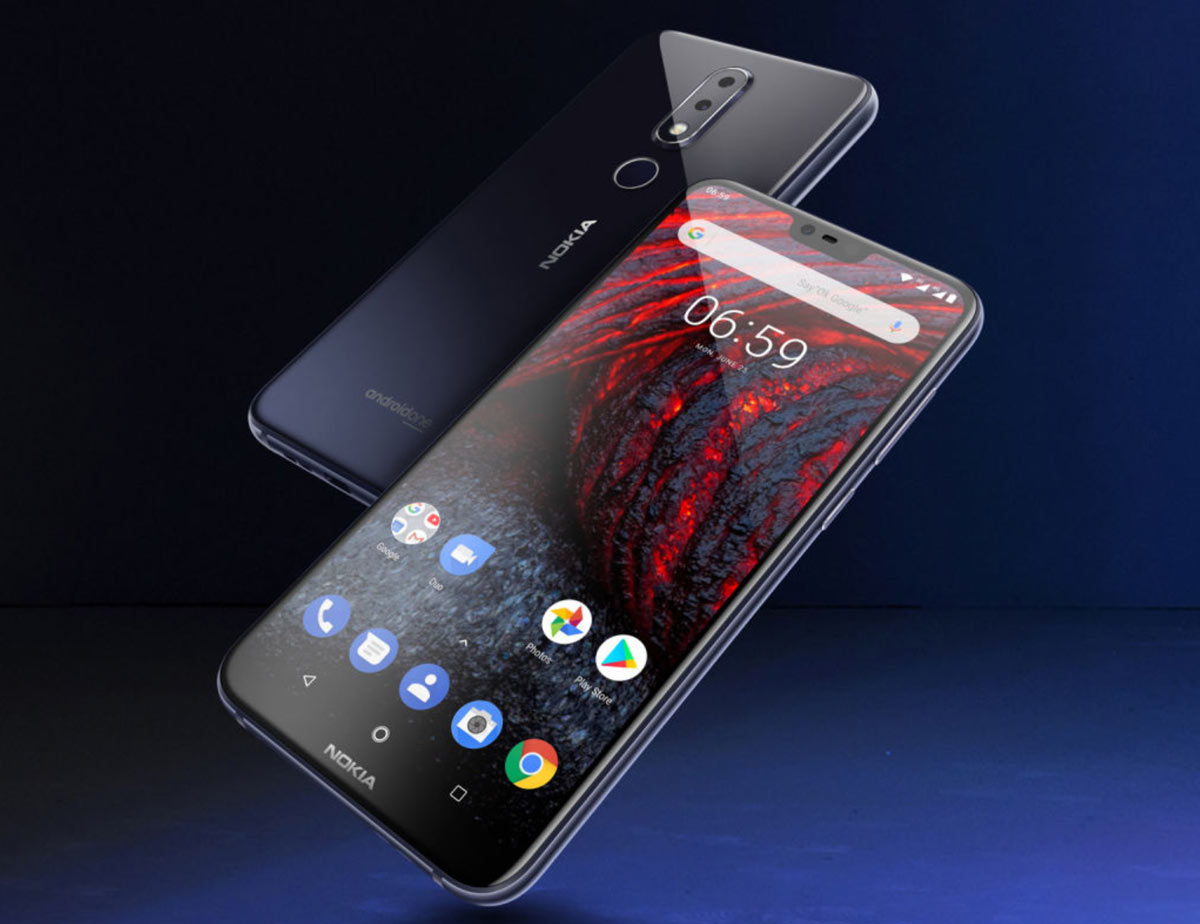 The Nokia 6.1 Plus is official: Android One and notch together