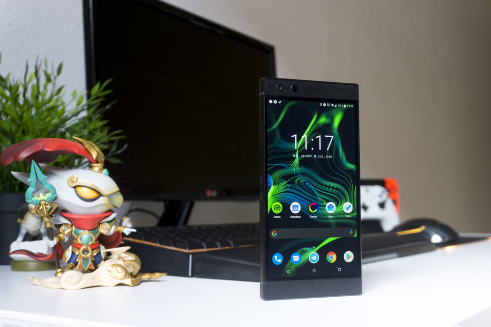 Nova Launcher is the Razer Phone 2 launcher
