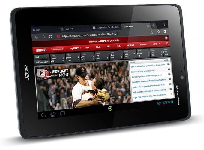 Acer Iconia A110: Potencia a bajo precio para competir con la Nexus 7