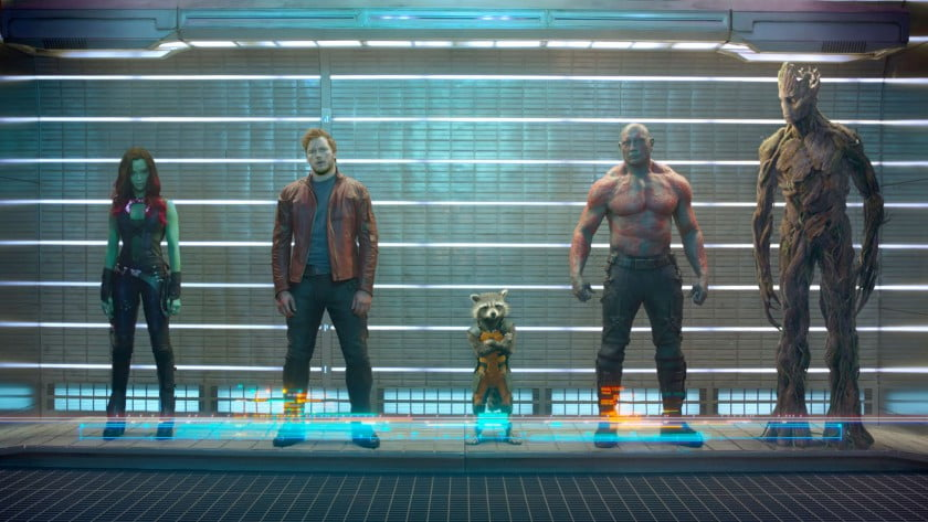 Marvel movies at Disney Plus Guardians of the Galaxy