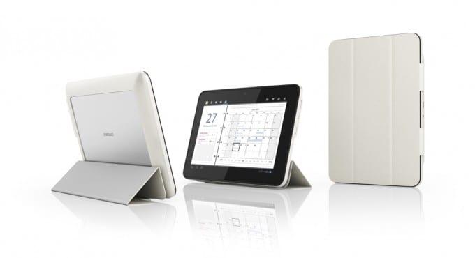 Alcatel presenta la tablet EVO7: Marcos intercambiables y su novedoso módulo 3G
