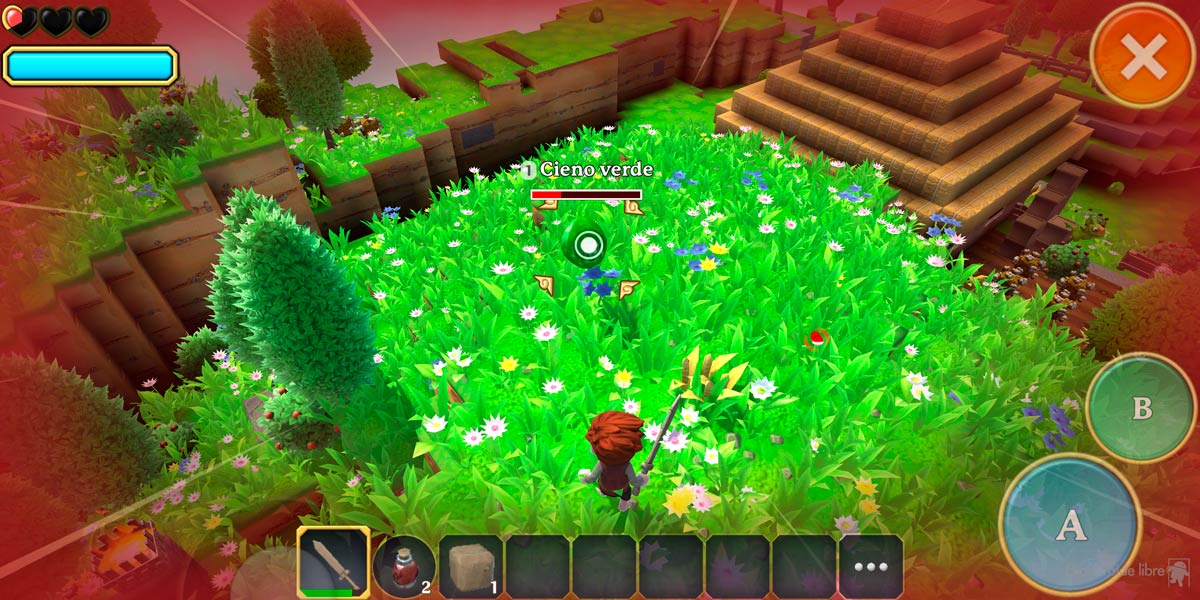 An amazing open role game of spectacular graphics: Portal Knights