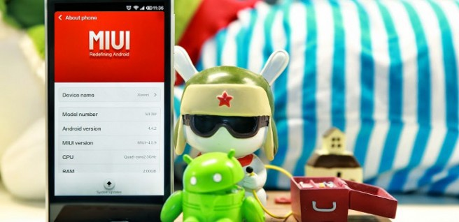 Xiaomi Android L update
