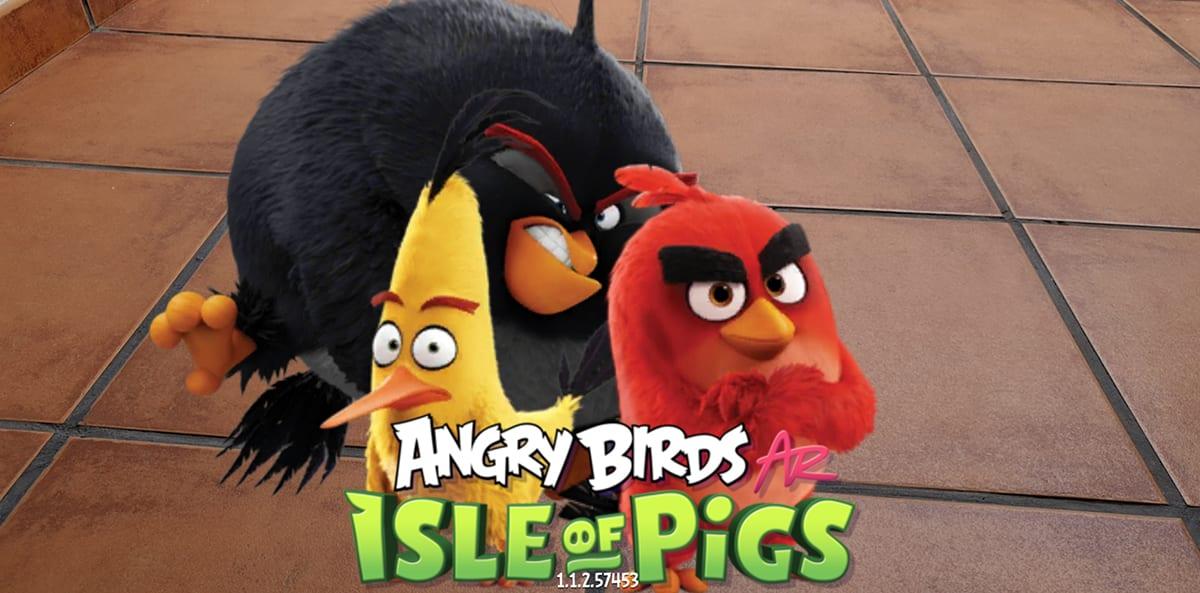 Angry Birds AR: Isle of Pigs