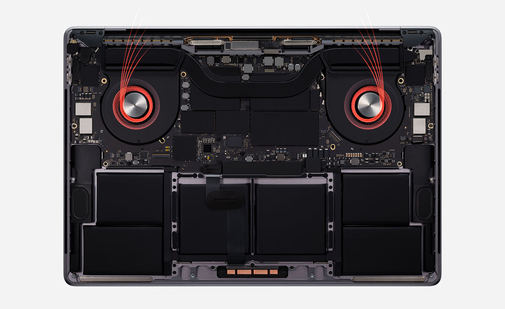 Fans of the new MacBook Pro 16