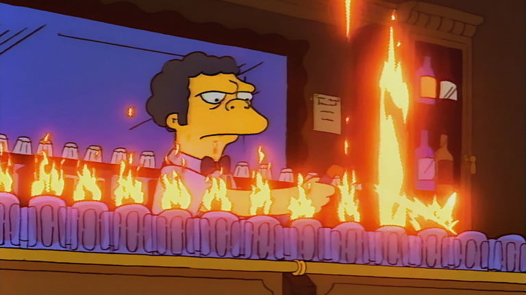 Flare Moe | The best episodes of The Simpsons