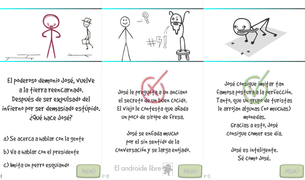 Be Like Joseph 2: Revenge or how to be smarter thanks to a stickman