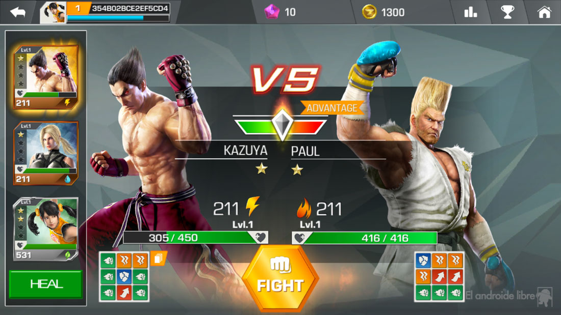 We analyze Tekken for Android: the mythical fighting game now on mobile