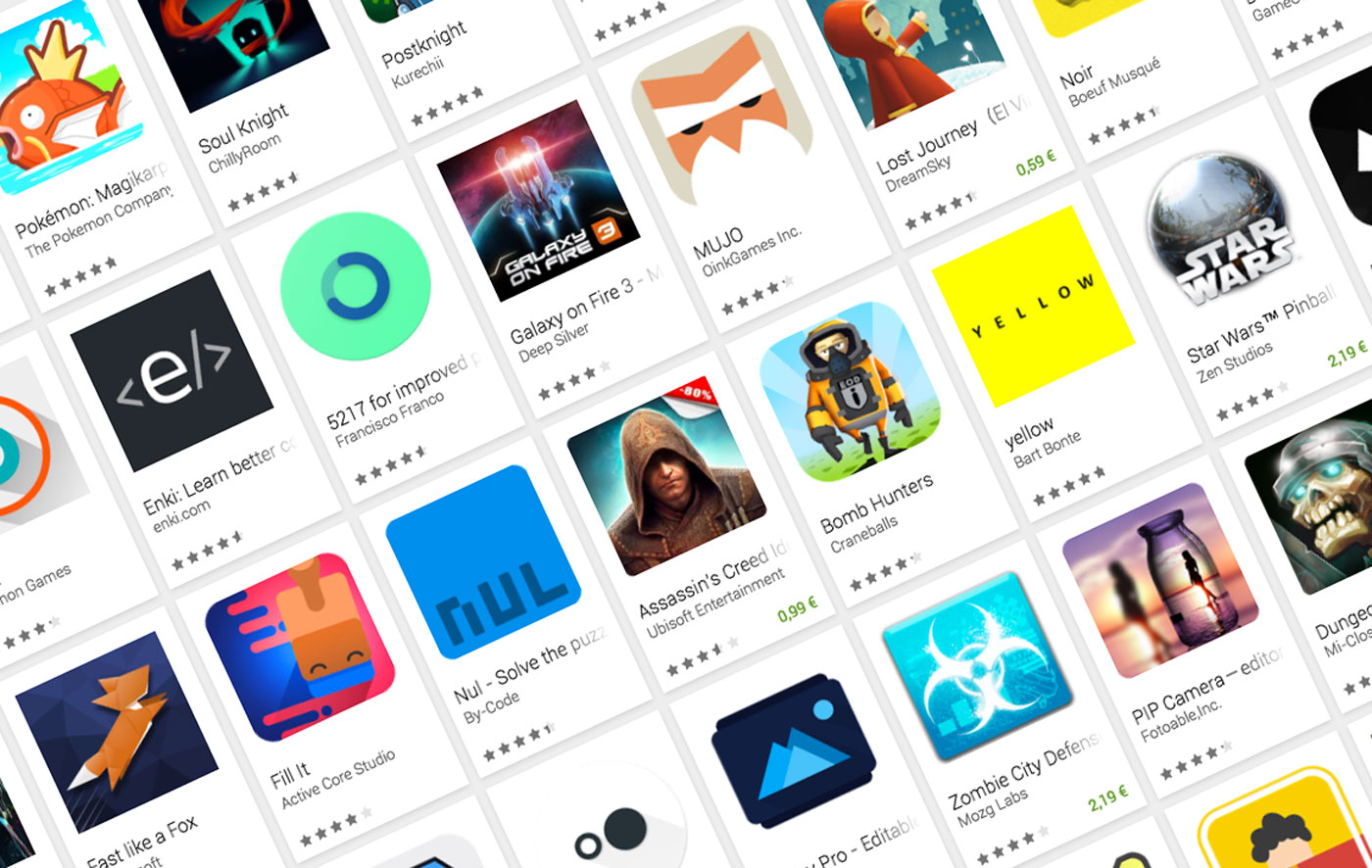The 20 finalists of the indie game festival of the Google Play in San Francisco are announced