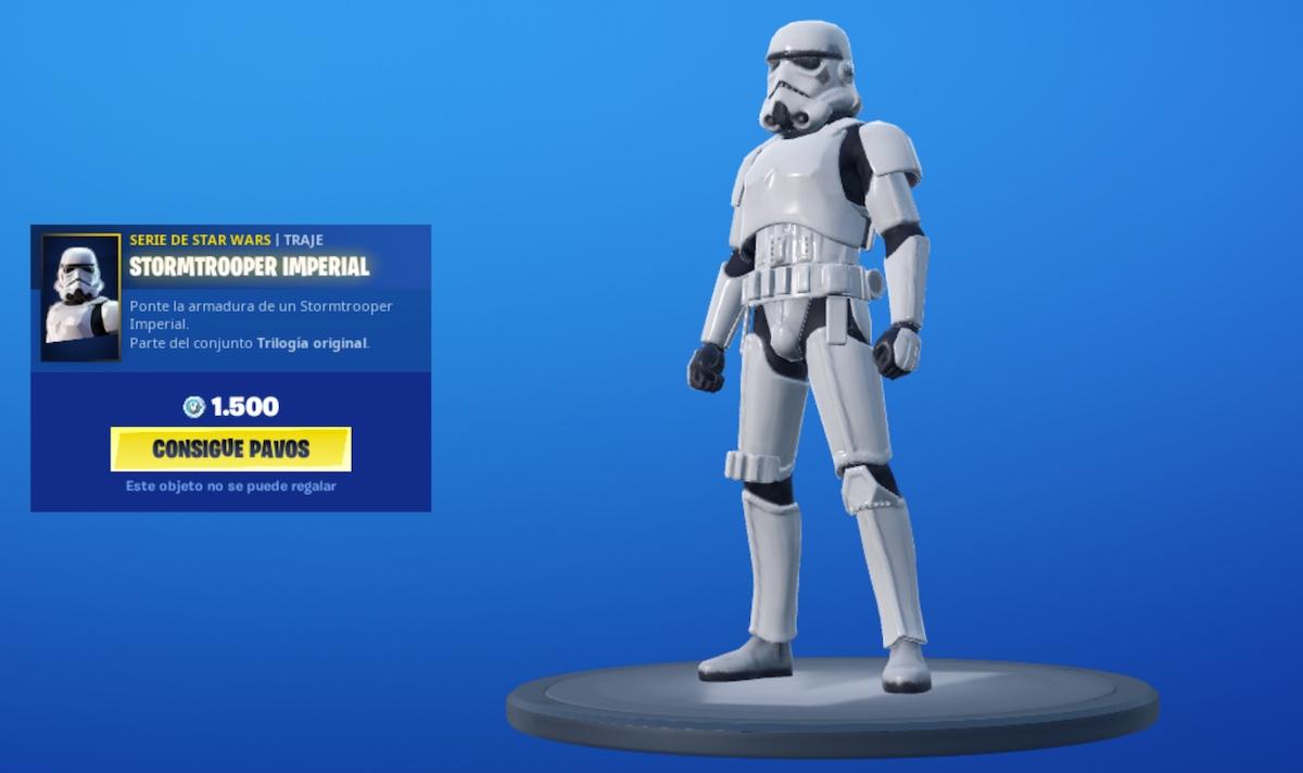 Stormtrooper Fortnite