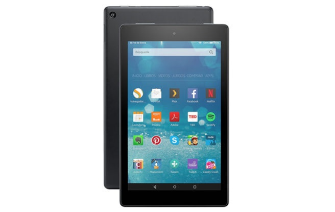 8-inch tablet fire