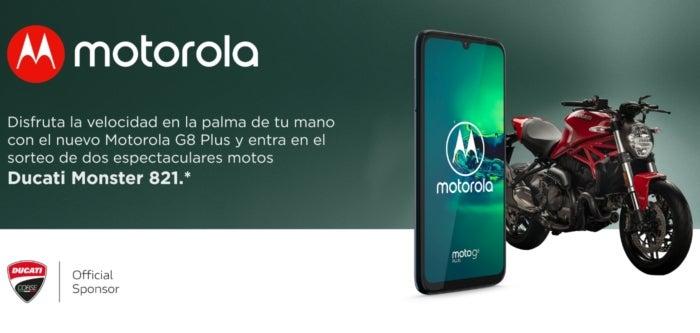 Ducati and Motorola offer